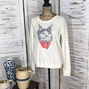 NWT Hollister Sweatshirt with Cat
